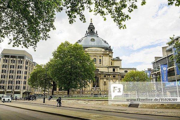 Methodist Central Hall London England United Kingdom Capital River Thames UK Europe EU.