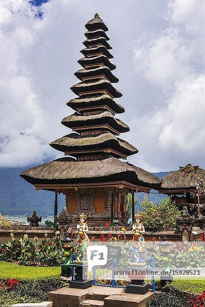 Ulun Danu Beratan Temple  Bali  Indonesia.