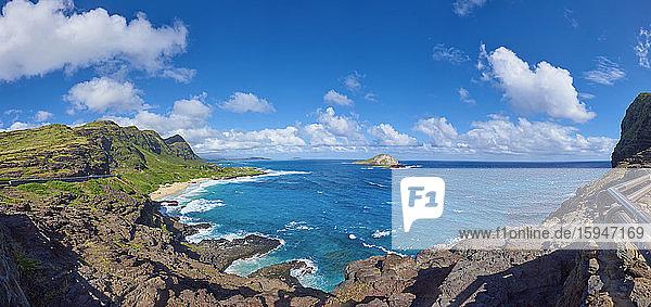 Makapu'u Beach  Oahu  Hawaii  USA