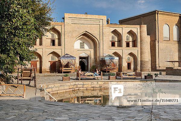 Abdurachmon-Alam-Medrese  Buchara  Usbekistan  Asien