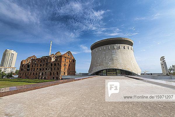 Staatliche Geschichts- und Gedenkstätte zur Schlacht von Stalingrad  Wolgograd  Gebiet Wolgograd  Russland  Eurasien