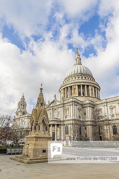 St. Pauls Cathedral  London  England  Vereinigtes Königreich  Europa