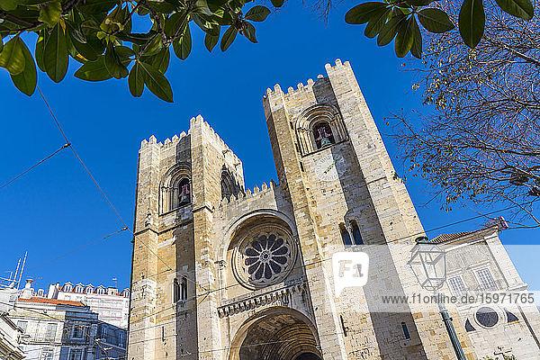 Die Kathedrale von Lissabon (das Se)  eine römisch-katholische Kathedrale in Lissabon  Portugal  Europa