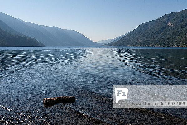 Halbmondsee  Olympischer Nationalpark  UNESCO-Weltkulturerbe  Bundesstaat Washington  Vereinigte Staaten von Amerika  Nordamerika