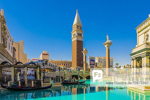 Venetian Hotel and Casino  Las Vegas  Nevada  Vereinigte Staaten von Amerika  Nordamerika