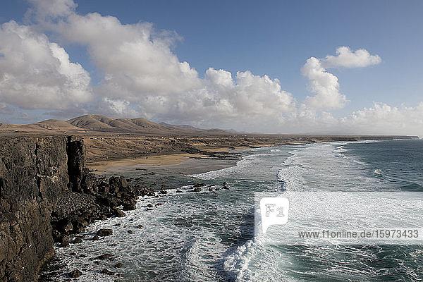 Strand El Cotillo  Fuerteventura  Kanarische Inseln  Spanien  Atlantik  Europa