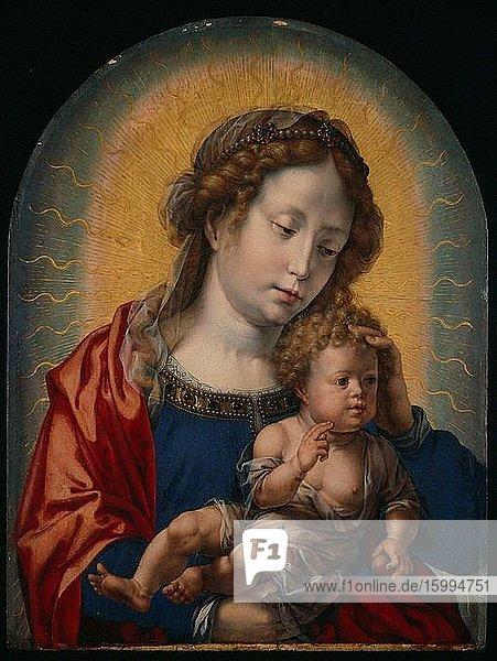Jan Gossaert (Mabuse) - Virgin Child C 1525.
