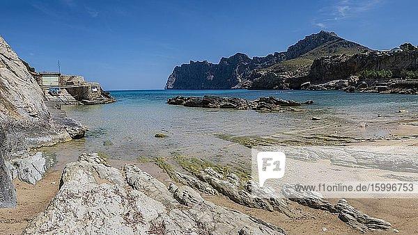 Cala Sant Vicen? - Cala Barques  Pollen?a  Mallorca  Balearic Islands  Spain.
