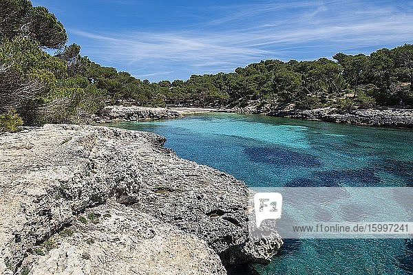 Sa Barca Trencada  Santany? municipal area  Mallorca  Balearic Islands  Spain.
