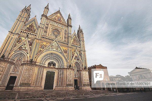 Orvieto Cathedral. Orvieto. Terni Province. Umbria. Italy.