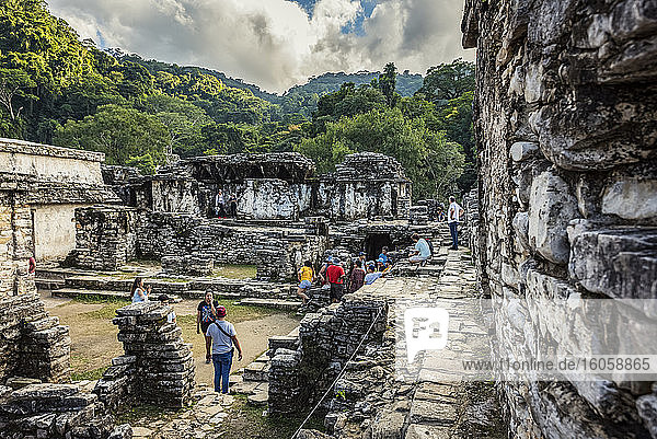 Ruinen der Maya-Stadt Palenque; Chiapas  Mexiko