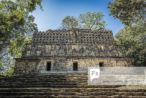 Yaxchilan  an ancient Maya city; Usumacinta Province  Chiapas  Mexico