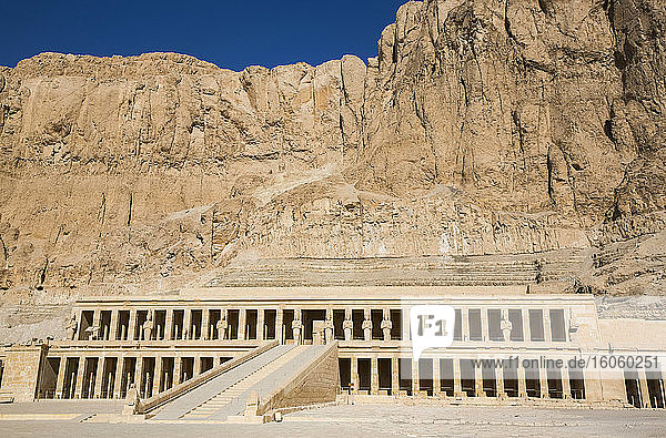 Hatshepsut Mortuary Temple (Deir el-Bahri)  UNESCO World Heritage Site  Theban Necropolis; Luxor  Egypt
