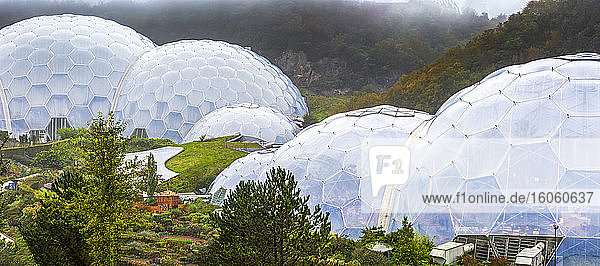 The Eden Project; Cornwall County  England