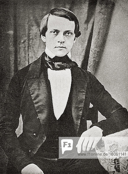 Hermann Ludwig Ferdinand von Helmholtz  1821 – 1894. German physician and physicist. From Selected Readings in the History of Physiology  published 1930.