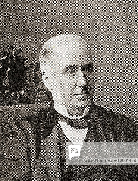 Joseph Storrs Fry  1767-1835. Englischer Schokoladen- und Süßwarenhersteller. Aus The Business Encyclopaedia and Legal Adviser  veröffentlicht 1907.