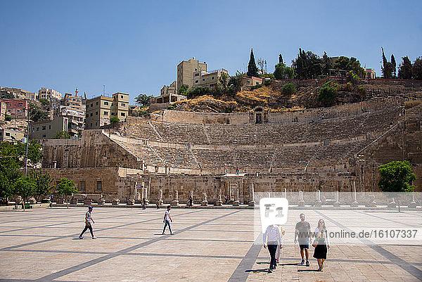 Asia  Middle East  Jordan  Amman  the roman theatre