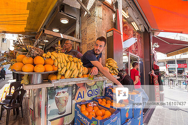 Asia  Middle East  Jordan  Amman  market