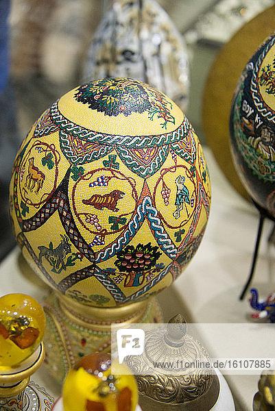 Asia  Middle East  Jordan  Madaba  mosaic artwork