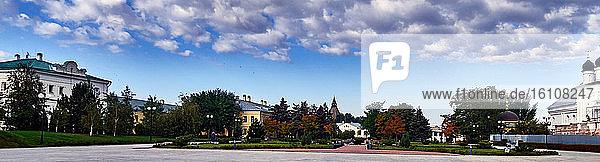 Russia Astrakhan Oblast. the kremlin grounds park in the Astrakhan city