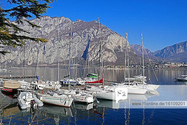 Italy  Lombardy  Lecco  Como lake landscape