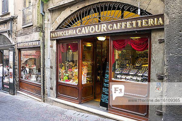 Italy  Lombardy  Bergamo  Cavour bakery