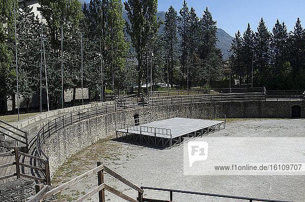 Europe  Italy  Piedmont  Valle Susa  Susa  Roman amphitheater