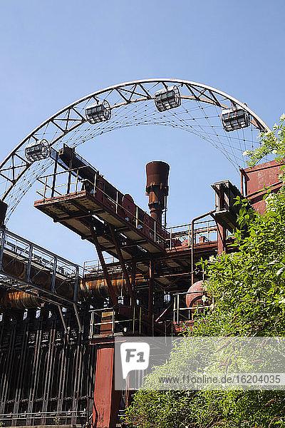 Zollverein Coal Mine Industrial Complex  Essen  Ruhr Region  Germany