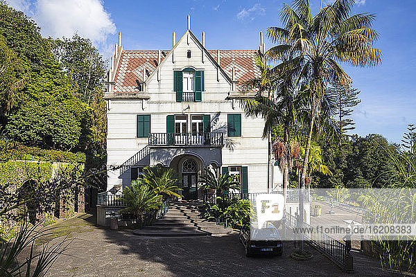 Monte Palace Tropischer Garten  Monte  Funchal  Madeira  Portugal  Atlantik  Europa