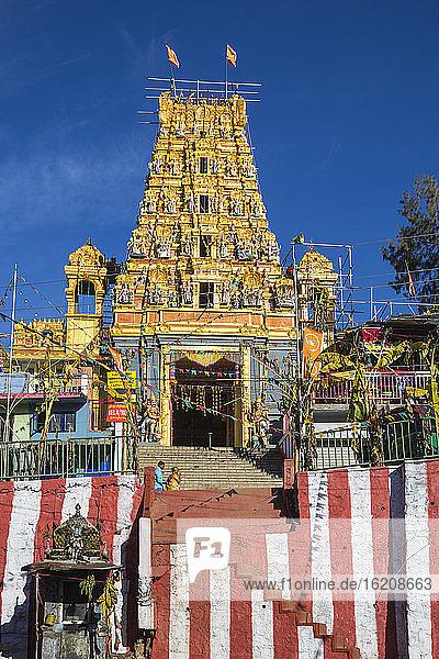 Hindu-Tempel  Talawakelle  Nuwara Eliya  Zentralprovinz  Sri Lanka  Asien