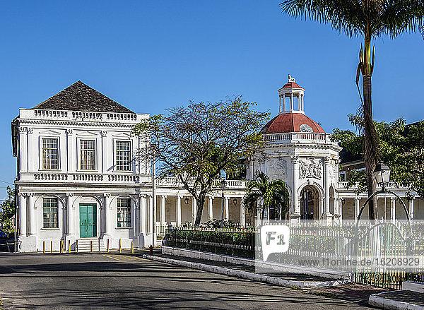 The Rodney Memorial  Hauptplatz  Spanische Stadt  St. Catherine Parish  Jamaika  Westindische Inseln  Karibik  Mittelamerika