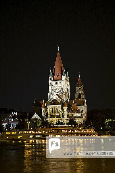 Austria  Vienna  Franz von Assisi church