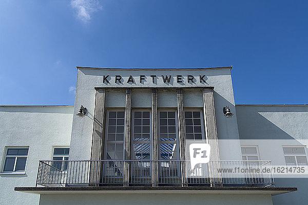 Deutschland  Bayern  Bau eines alten Wasserkraftwerks Deutschland, Bayern, Bau eines alten Wasserkraftwerks