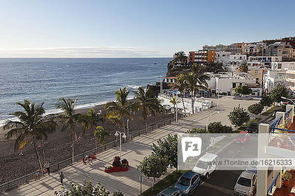 Spain  Canary Islands  La Palma  View of beach