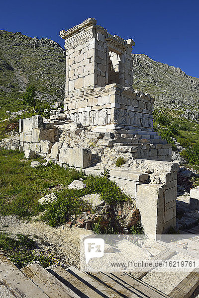Turkey  Heroon at archaeological site of Sagalassos