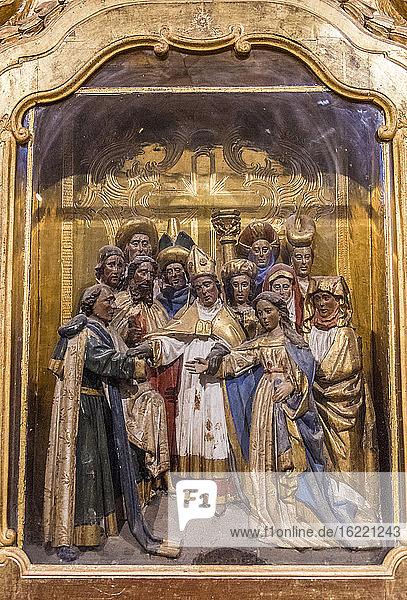 Spanien  Autonome Gemeinschaft Kastilien-La Mancha  Cuenca  Kathedrale St. Maria und St. Julian (12. - 18. Jahrhundert) (UNESCO-Welterbe) (Schönstes Dorf Spaniens)