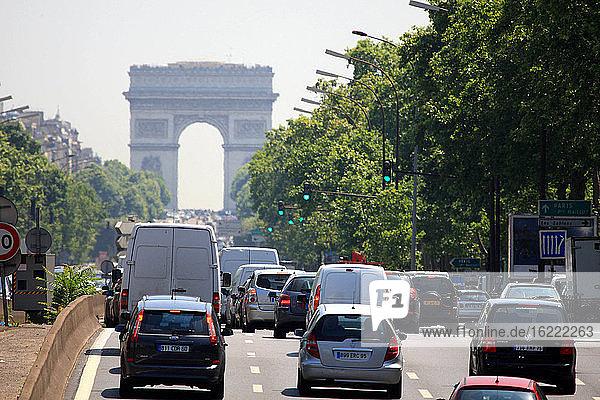 France  Paris  Arch of Triumph