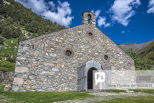 Spanien  Katalonien  Pyrenäen  Comarque de Ripolles  Einsiedelei des Heiligen Giles in Nuria