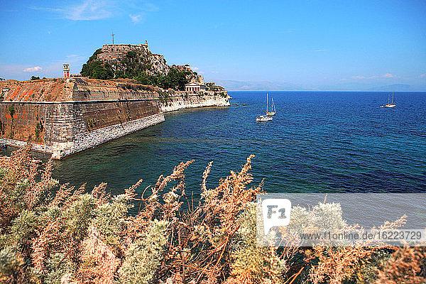 Greece  ionian islands  Corfu  citadel of Kerkyra.