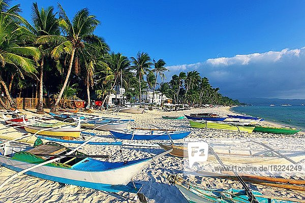 Philippines  Boracay Island. White Beach.