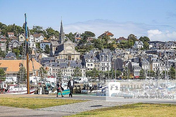Promenade  Trouville  Normandie  Frankreich  Europa