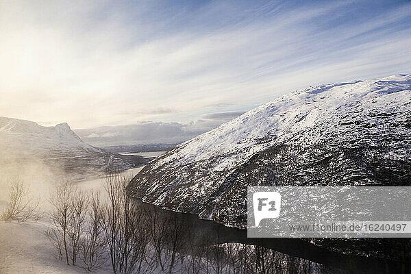 Winterliche Berge