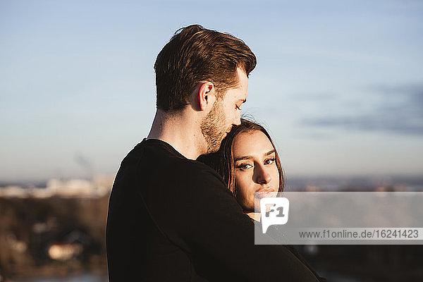Ehepaar zusammen