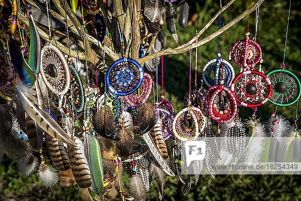 Traumfänger zu verkaufen; Bonampak  Usumacinta-Provinz  Chiapas  Mexiko