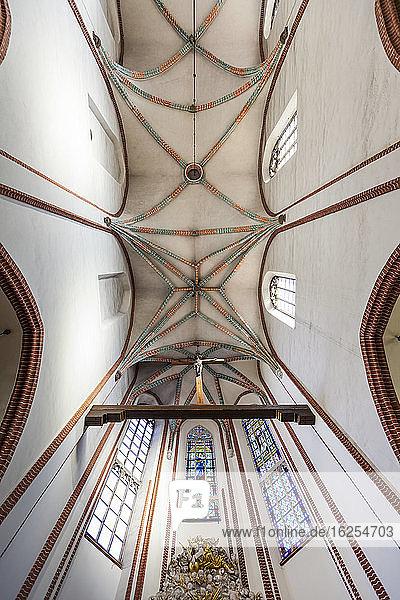 Inneres der Fronleichnamskirche; Breslau  Schlesien  Polen
