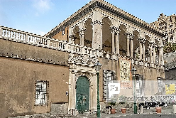 The Villa del Principe  Palazzo del Principe  or Palazzo di Andrea Doria is a historical villa of Genoa  Liguria  Italy. Built in the sixteenth century in an area that at the time of construction of the villa  was outside the city walls.