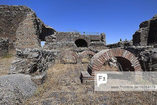 Sao Cucufate roman ruins  Bath  Vila de Frades  Vidigueira  Alentejo  Portugal  Europe