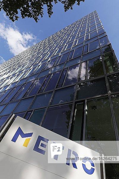 Headquarters of Metro AG  Düsseldorf  North Rhine-Westphalia  Germany  Europe