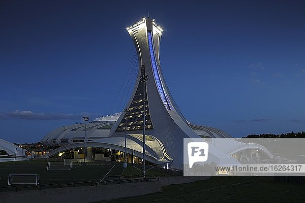 Olympic Stadium  Montreal  Province of Quebec  Canada  North America