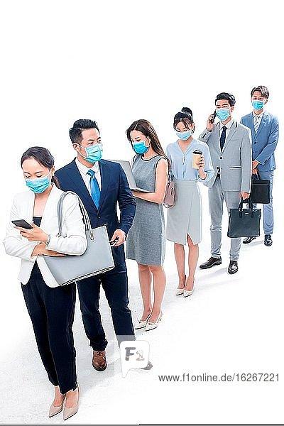 Tragen einer Maske bei der Ausübung der Tätigkeit